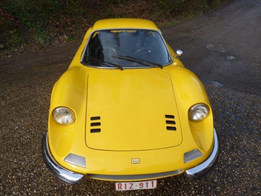 Yellow Dino Ferrari
